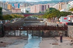 Obras en el Puente El Cabo/Foto: Tony Cuadrado/Freelancer