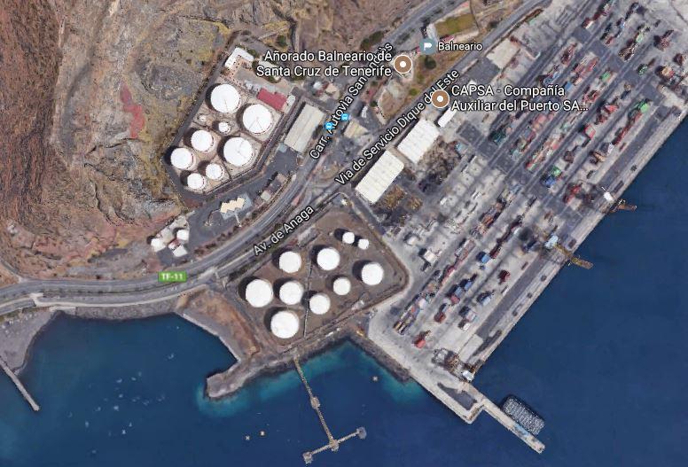 Balneario Luftaufnahme Google