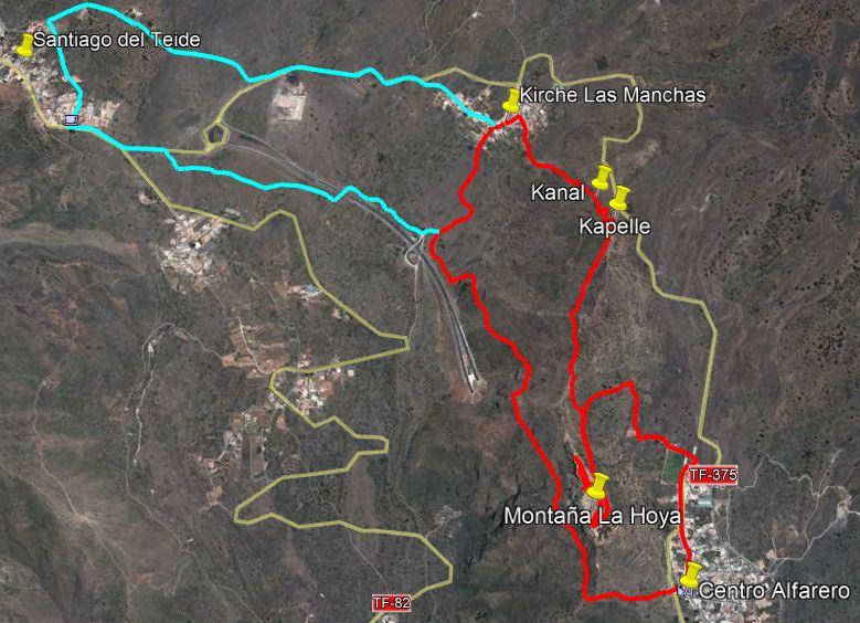Karte La Hoya